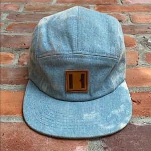 Beau Hudson Five Panel Denim Hat